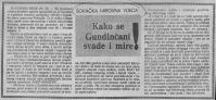Vjesnik Kako se Gundincani svade i mire 29 05 1979
